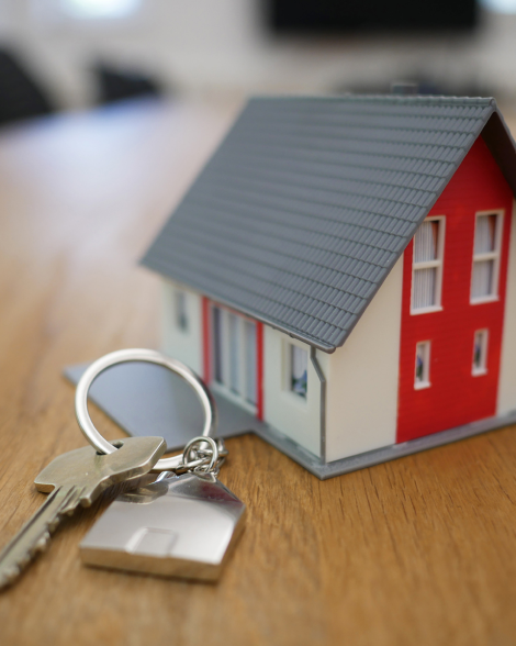 home with a key